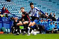 Leeds United midfielder Jordan Stevens (7)  during the U23 Professional Development League match between U23 Sheffield Wednesday and U23 Leeds United at Hillsborough, Sheffield, England on 3 February 2020.