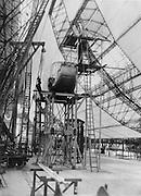 Construction of the 'Graf Zeppelin', Zeppelin Werke, Friedrichshafen, 1928