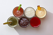 Belo Horizonte_MG, ..Detalhe de sucos de frutas tropicais...Detail of tropical juices...Foto: BRUNO MAGALHAES / LEO DRUMOND / NITRO