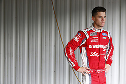 June 1, 2018 - Long Pond, Pennsylvania, United States of America - Ryan Reed (16) hangs out in the garage during practice for the Pocono Green 250 at Pocono Raceway in Long Pond, Pennsylvania. (Credit Image: © Chris Owens Asp Inc/ASP via ZUMA Wire)