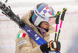 Elena Curtoni (ITA) during 2nd Run of Ladies' Giant Slalom at 57th Golden Fox event at Audi FIS Ski World Cup 2020/21, on January 17, 2021 in Podkoren, Kranjska Gora, Slovenia. Photo by Vid Ponikvar / Sportida