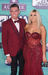 Sam Gowland and Chloe Ferry arriving at the MTV Europe Music Awards 2017 held at The SSE Arena, London. Photo credit should read: Doug Peters/EMPICS Entertainment