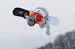 Chris Corning of the USA in the Mens Slopestyle during day one of the PyeongChang 2018 Winter Olympic Games in South Korea.
