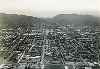 1922 Looking north up Highland Ave. from Santa Monica Blvd.