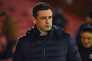 Jack Ross of Sunderland (Manager) during the EFL Sky Bet League 1 match between Barnsley and Sunderland at Oakwell, Barnsley, England on 12 March 2019.