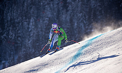 22.01.2019, Streif, Kitzbühel, AUT, FIS Weltcup Ski Alpin, Abfahrt, Herren, 1. Training, im Bild Martin Cater (SLO) // Martin Cater of Slovenia during the 1st Training of mens downhill of FIS Ski Alpine Worldcup at the Streif in Kitzbühel, Austria on 2019/01/22. EXPA Pictures © 2019, PhotoCredit: EXPA/ Johann Groder
