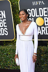 January 6, 2019 - Los Angeles, California, U.S. - Dominique Jackson during red carpet arrivals for the 76th Annual Golden Globe Awards at The Beverly Hilton Hotel. (Credit Image: © Kevin Sullivan via ZUMA Wire)