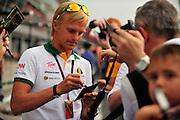 September 10-12, 2010: Italian Grand Prix. heikki Kovalainen