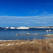 Mono Lake West Shoreline Tufa Wide