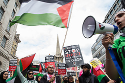 London, UK. 26th June, 2021. Pro-Palestinian activists join thousands of people attending a United Against The Tories national demonstration organised by the People's Assembly Against Austerity in protest against the policies of Prime Minister Boris Johnson's Conservative government. The demonstration contained blocs from organisations and groups including Palestine Solidarity Campaign, Stand Up To Racism, Stop The War Coalition, Extinction Rebellion, Kill The Bill and Black Lives Matter as well as from trade unions Unite and the CWU.