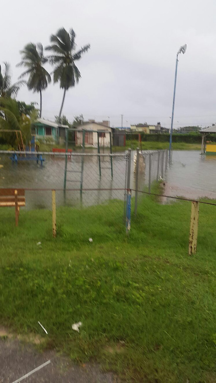 EXCLUSIVE: Hurricane Maria Rapidly Intensify as it pass on the north of Barbados. 18 Sep 2017 Pictured: Barbados. Photo credit: 246paps/MEGA TheMegaAgency.com +1 888 505 6342