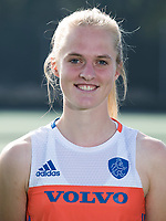 UTRECHT - Elin van Erk. Jong Oranje dames voor EK 2017 in Valencia. COPYRIGHT KOEN SUYK