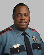 Houston ISD Police Assistant Chief Michael Benford poses for a photograph, July 14, 2014.