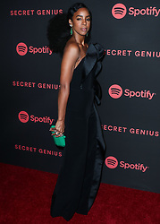 LOS ANGELES, CA, USA - NOVEMBER 16: Spotify's Secret Genius Awards 2018 held at The Theatre at Ace Hotel on November 16, 2018 in Los Angeles, California, United States. 16 Nov 2018 Pictured: Kelly Rowland. Photo credit: Xavier Collin/Image Press Agency/MEGA TheMegaAgency.com +1 888 505 6342