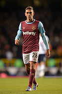 Manuel Lanzini of West Ham United looking on. Barclays Premier league match, Tottenham Hotspur v West Ham Utd at White Hart Lane in London on Sunday 22nd November 2015.<br /> pic by John Patrick Fletcher, Andrew Orchard sports photography.