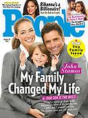 August 11, 2021 - US: John Stamos Covers People Magazine