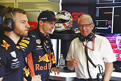 March 16, 2019 - Melbourne, Australia - Motorsports: FIA Formula One World Championship 2019, Grand Prix of Australia, ..#33 Max Verstappen (NLD, Aston Martin Red Bull Racing), Dr. Helmut Marko (AUT, Aston Martin Red Bull Racing) (Credit Image: © Hoch Zwei via ZUMA Wire)