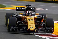 June 9, 2017 - Montreal, Canada - Motorsports: FIA Formula One World Championship 2017, Grand Prix of Canada, .#27 Nico Hulkenberg (GER, Renault Sport F1 Team) (Credit Image: © Hoch Zwei via ZUMA Wire)