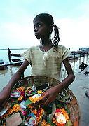Flower Girl - Varanasi Ghats