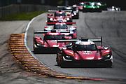 August 5 2018: IMSA Weathertech Continental Tire Road Race Showcase. 77 Mazda Team Joest, Mazda DPi, Oliver Jarvis, Tristan Nunez