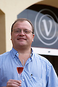 Xavier Domenech Vidal of the owner family. Vallformosa, Vilobi, Penedes, Catalonia, Spain