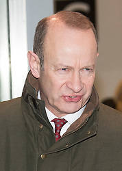 © Licensed to London News Pictures. 15/01/2018. London, UK. UKIP party leader HENRY BOLTON is seen leaving BBC Broadcasting House in London following interviews. Mr Bolton is under pressure after his partner, glamour model Jo Marney, wrote offensive text messages to friend. She has been suspended from the party. Photo credit: Ben Cawthra/LNP