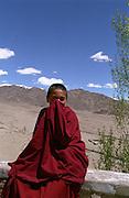 Ladakh Himalayas - Buddhist Monk