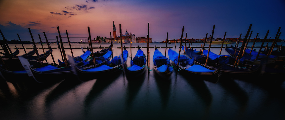 Venice Dawn and Boats