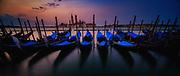Venice Dawn and Boats