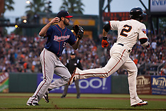 20110622 - Minnesota Twins at San Francisco Giants (MLB Baseball)