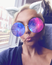 """Natascha Ochsenknecht releases a photo on Instagram with the following caption: """"Feierabend \ud83d\ude4b ab nach Berlin \u2764\ufe0f mit @cheyennesavannah"""". Photo Credit: Instagram *** No USA Distribution *** For Editorial Use Only *** Not to be Published in Books or Photo Books ***  Please note: Fees charged by the agency are for the agency's services only, and do not, nor are they intended to, convey to the user any ownership of Copyright or License in the material. The agency does not claim any ownership including but not limited to Copyright or License in the attached material. By publishing this material you expressly agree to indemnify and to hold the agency and its directors, shareholders and employees harmless from any loss, claims, damages, demands, expenses (including legal fees), or any causes of action or allegation against the agency arising out of or connected in any way with publication of the material."""