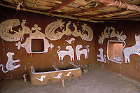 Inde - Rajasthan - Village des environs de Tonk // India. Rajasthan. Village near Tonk