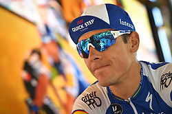July 15, 2017 - Rodez, FRANCE - Belgian Philippe Gilbert of Quick-Step Floors at the start of the 14th stage of the 104th edition of the Tour de France cycling race, 181,5 from Blagnac to Rodez, France, Saturday 15 July 2017. This year's Tour de France takes place from July first to July 23rd. BELGA PHOTO DAVID STOCKMAN (Credit Image: © David Stockman/Belga via ZUMA Press)