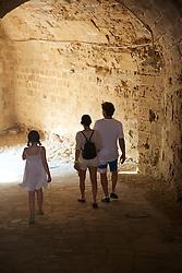 Isabelle, Gulru & Ben in Girne Castle