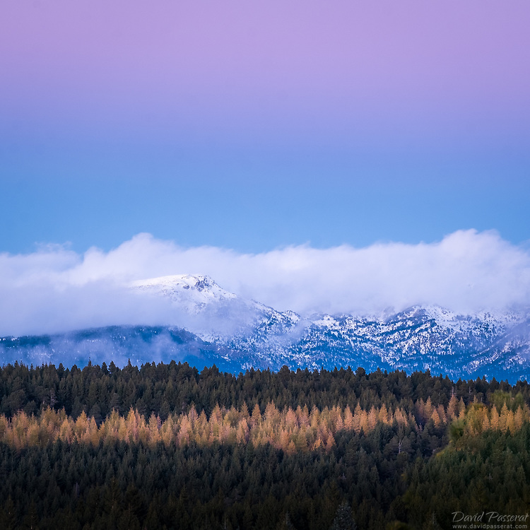 The pyrenees from Font-Romeu