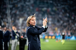 April 22, 2018 - Turin, Piedmont/Turin, Italy - Pavel Nedved durig the Serie A match Juventus FC vs Napoli. Napoli won 0-1 at Allianz Stadium, in Turin, Italy 22nd april 2018 (Credit Image: © Alberto Gandolfo/Pacific Press via ZUMA Wire)