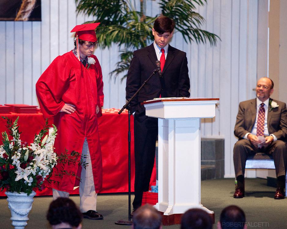 The Master's School. Graduation 2012.  (Photo by Robert Falcetti).facebook.com/robertfalcettiphotography   www.robertfalcetti.com. .