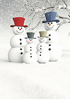 Christmas can be a wonderful time of year. It can also be a little on the stressful side. To that end, you are going to be thrilled to invite this friendly family of snowmen and snowwomen into your home. This charming scene depicts a number of snow people on a gorgeous winter day. It is easy to look at something like this, and remember the snow people you made during your own childhood. To look closely at this fine art holiday example, you will marvel at the incredible assortment of details. This is an ideal gift for anyone who carries the spirit of Christmas in their hearts. BUY THIS PRINT AT<br /> <br /> FINE ART AMERICA<br /> ENGLISH<br /> https://janke.pixels.com/featured/meeting-the-snowmen-family-jan-keteleer.html