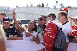 July 29, 2017 - Budapest, Hungary - Motorsports: FIA Formula One World Championship 2017, Grand Prix of Hungary, ..#5 Sebastian Vettel (GER, Scuderia Ferrari) (Credit Image: © Hoch Zwei via ZUMA Wire)