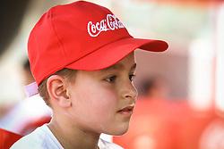Lance da partida entre ADIEE x Espaço da Bola válida pela Copa Coca-Cola 2013 no complexo Esportivo Aldo Silva, em Florianópolis. Foto: Cristiano Estrela/Preview.com