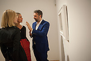 ROSAMUND PIKE;  PRINCESS ELISABETH VON THURN UND TAXIS; KEITH TYSON Panta Rhei. An exhibition of work by Keith Tyson. The Pace Gallery. Burlington Gdns. 6 February 2013.