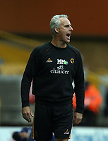 Photo: Rich Eaton.<br /> <br /> Wolverhampton Wanderers v Sheffield Wednesday. Coca Cola Championship. 28/10/2006. Wolves manager Micj McCarthy