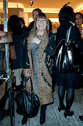 HILARY ALEXANDER at a party to celebrate the publication of 'Parisian Chic: A Style guide' by Ines de La Fressange held at Roger Vivier, Sloane Street, London on 5th Apreil 2011.