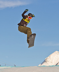 07.12.2010,AUT, Schlegelkopf, Lech am Arlberg, LG Snowboard, FIS Worldcup SBX, im Bild Koukalova Klara, CZE, #17, EXPA Pictures © 2010, PhotoCredit: EXPA/ P. Rinderer
