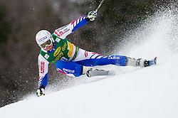 MERMILLOD BLONDIN Thomas of France during the 2nd Run of 7th Men's Giant Slalom - Pokal Vitranc 2013 of FIS Alpine Ski World Cup 2012/2013, on March 9, 2013 in Vitranc, Kranjska Gora, Slovenia. (Photo By Vid Ponikvar / Sportida.com)