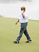 John Daly on green at TPC Southwind in Memphis.