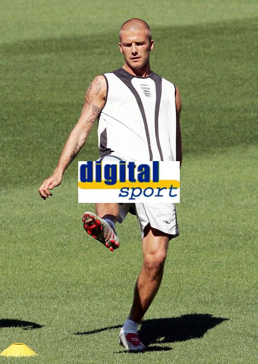 Englands David Beckham. © Valeriano Di Domenico/EQ Images