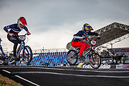 2021 UCI BMXSX World Cup<br /> Round 4 at Bogota (Colombia)<br /> Qualification Moto<br /> ^we#215 RIDENOUR, Payton (USA, WE) Mongoose, E6 Wheels