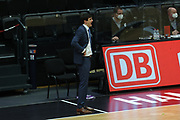 Basketball: Deutschland, 1. Bundesliga, Hamburg Towers -  Alba Berlin, Hamburg, 23.03.2021<br /> Trainer Pedro Calles (Towers)<br /> © Torsten Helmke