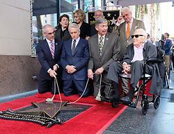 Michael Douglas to receive the 2,648th star on the Hollywood Walk of Fame. 06 Nov 2018 Pictured: Michael Douglas, Jane Fonda, Kirk Douglas. Photo credit: Jaxon / MEGA TheMegaAgency.com +1 888 505 6342